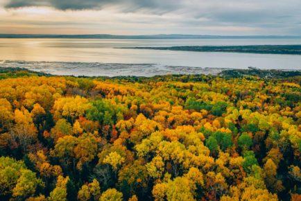 Décors pittoresques automne